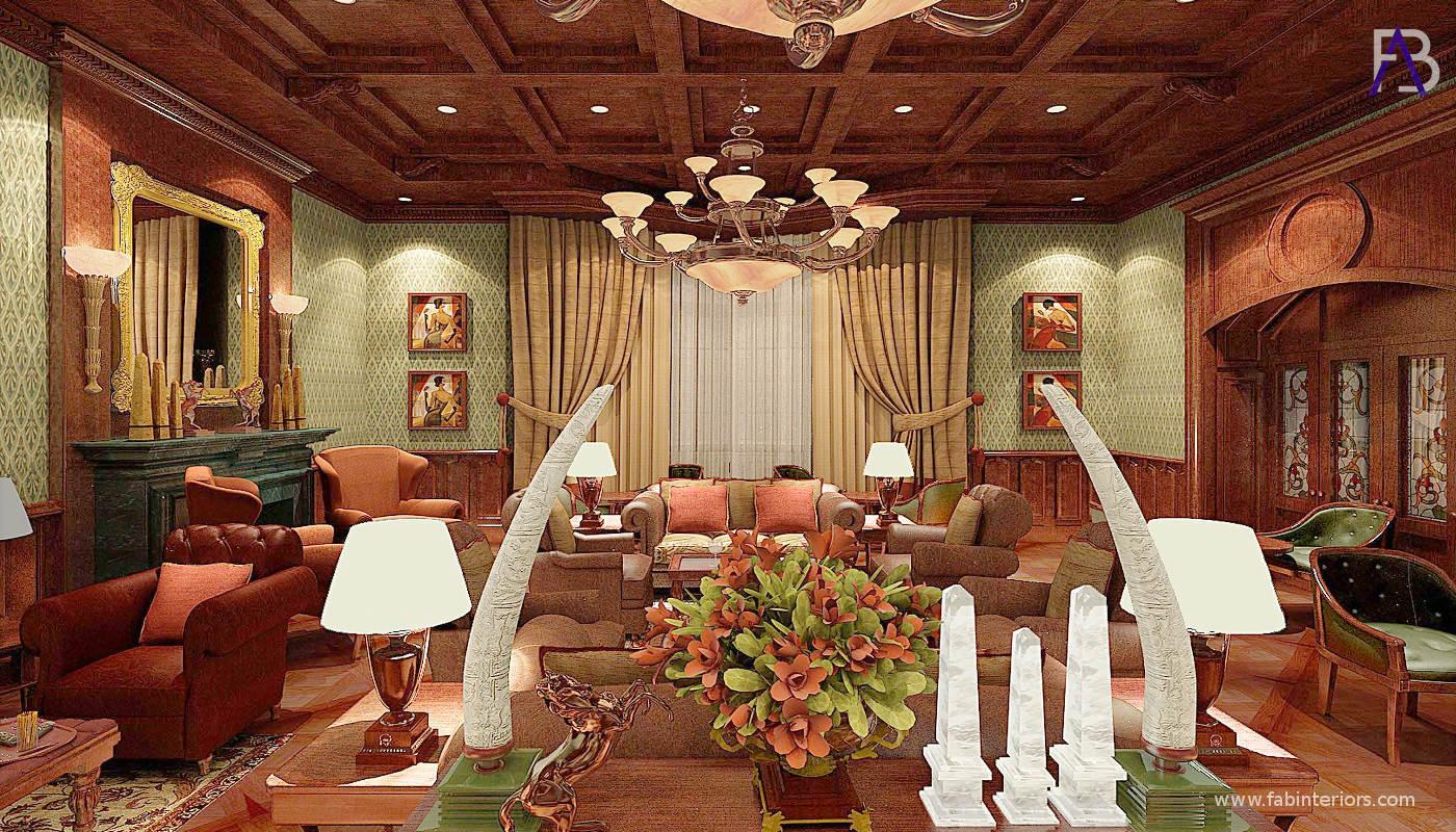 Interior Designers of Savoy Mussoorie Bar Lounge